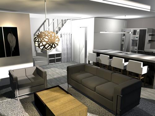 cl mence jeanjan d coratrice d 39 int rieur seine maritime eure am nagement d 39 un appartement avec. Black Bedroom Furniture Sets. Home Design Ideas